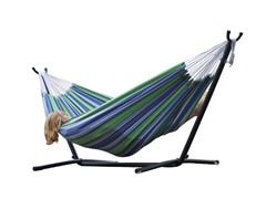 Double Hammock with Steel Stand, Oasis