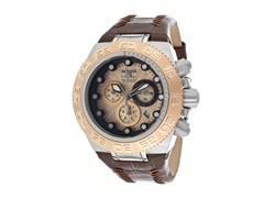 Subaqua - Rose Gold Dial / Brown Leather
