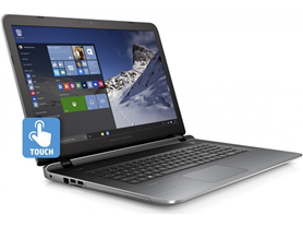 "HP 17.3"" Full-HD AMD A10 Touch Laptop"