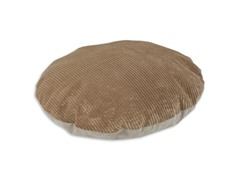 "Shaman Latte Oyster 36"" Round Pet Bed"