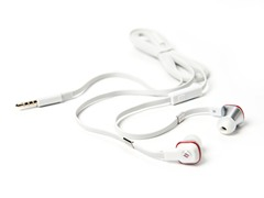 Hi-Fi In-Ear Headphones w/ SCCB - White