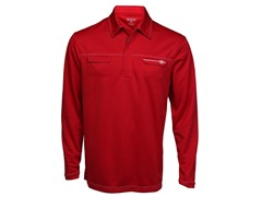Ripper Long-Sleeve Polo - Signal Red