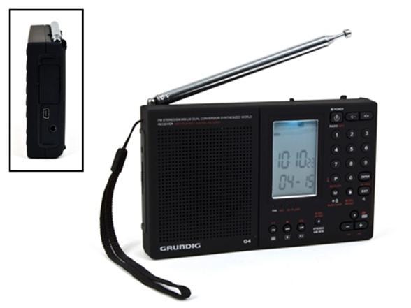 grundig g4 world recorder fm am shortwave portable radio. Black Bedroom Furniture Sets. Home Design Ideas