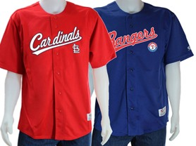 Major League Baseball Jerseys - 18 Teams