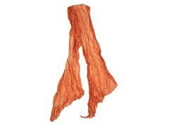 Global Color Layered Frayed Edge Scarf, Amber