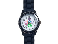 Crisscross Logo Watch - Black Band