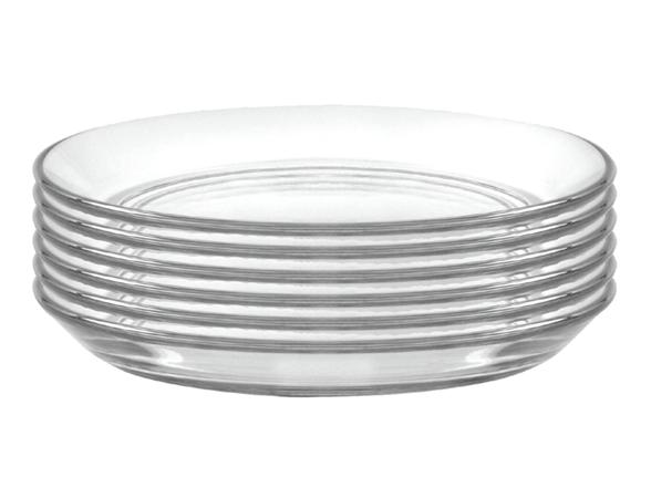 Duralex Glass Plates