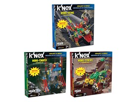 3-Pack of K'Nex Robo-Creatures