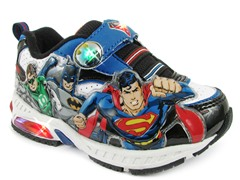 Justice League Light-Up Sneaker (7-12)