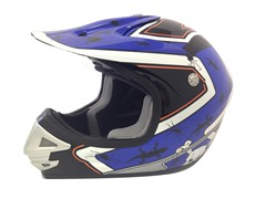 Youth Off-Road Helmet - Blue