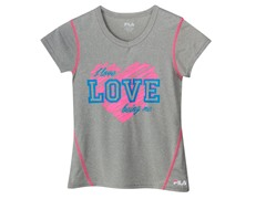Girls Graphic Tee - I Love Being Me