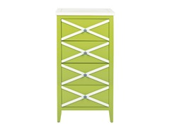 Sherrilyn 4 Drawer Accent Table (3 Colors)