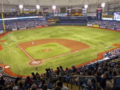 Tropicana Field, Tampa Bay Rays