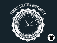 Procrastination University - Navy