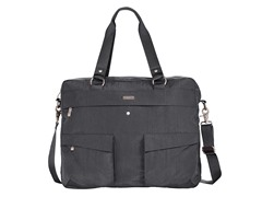 Baggallini Executive Satchel, Charcoal