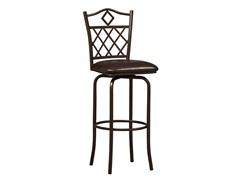 "Linon  Diamonds 24"" Counter Stool"