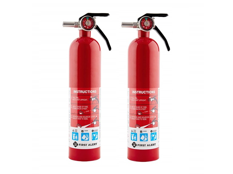 First Alert Standard Home Fire Extinguisher (2-Pack)