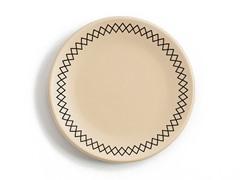 "K by Keaton Salad Plate 8.5"" Wheat Set of 4"