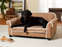 Toque Sofa Chestnut