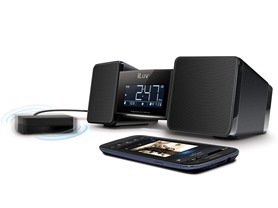 iLuv Bluetooth Speaker & Alarm Clock with Shaker