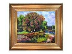 Renoir - Bluhender Kastanienbaum