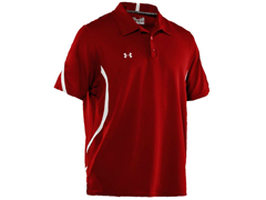 Signature On-Field Polo - Red/White