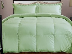 800TC Down Alternative Comforter-Sage-3 Sizes