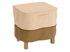 Ottoman/Table Cover, 26 by 26 by 17-Inch