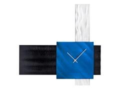 Align Clock Blue