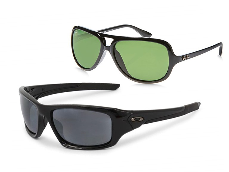 Oakley and Ray-Ban Sunglasses