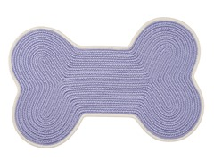 Amethyst Dog Bone Color Edge Rug - 3 Sizes
