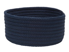 Navy Woven Storage Basket - 3 Sizes