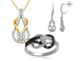 Interlocking Diamond Jewelry