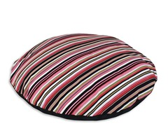 Beach Umbrella Black Round Pet Bed