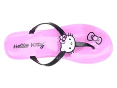 Hello Kitty Women's Gel Flip Flops, Pink