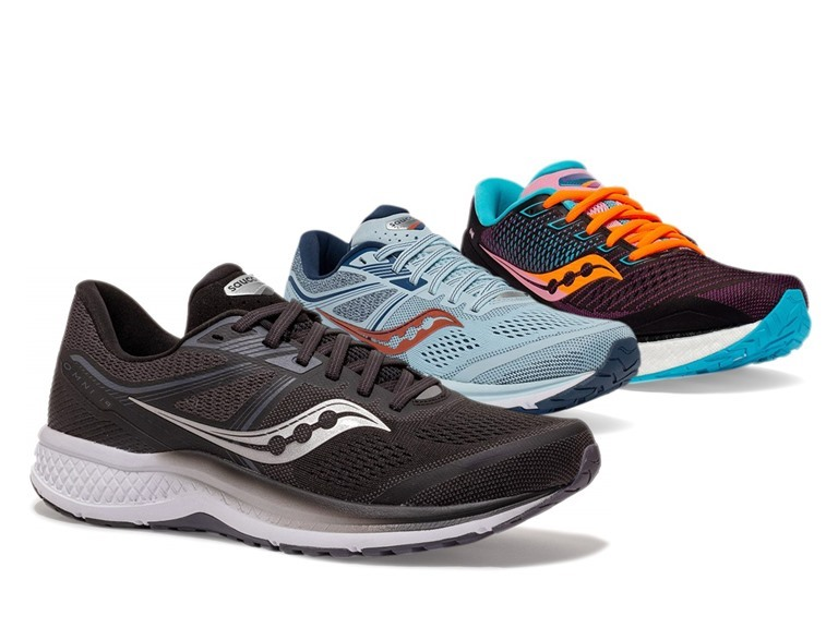 Saucony & Mizuno Running Shoes