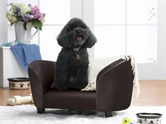Snuggle Pet Bed - Brown Pebble