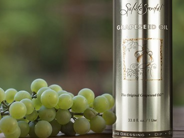 Salute Sante Grapeseed Oil 1 Liter Trio