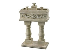 Victoria Fountain, Weathered Stone Finish