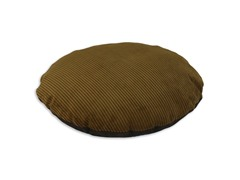 "Shaman Cocoa Expresso 36"" Round Pet Bed"