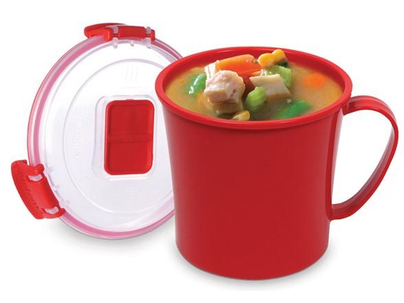 Sistema Mug To Go Set Of 4 5 Colors