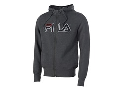 Fila Men's Fleece Hoody - Charcoal M EU