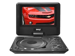 "7"" Portable LCD w/DVD Player & USB/SD"