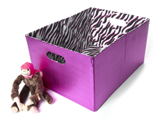 Fuchsia Foldable Storage - Large