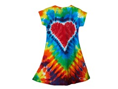 Girls - Rainbow Heart Dress (2,4,10 &14)