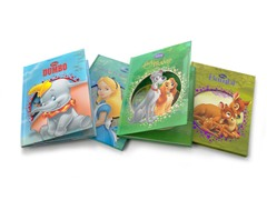 Disney Die-Cut Story Books 4-Pack