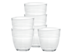 Set of 6 Tumblers 7.75oz