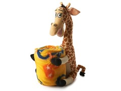 Melman Plush and Throw