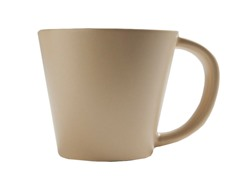 K by Keaton 12oz Solid Mug Wheat Set of 6