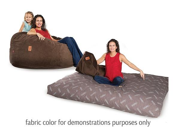 Excellent Cordaroys Faux Fur Bean Bag Chair Full Inzonedesignstudio Interior Chair Design Inzonedesignstudiocom